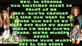 Ashley Tisdale - Switch - Lyrics