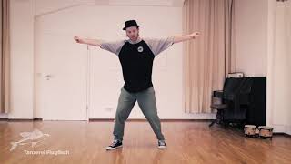 Hip Hop: Basics Teil 3, Happy Feet Criss Cross