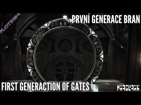První generace HVĚZDNÝCH BRAN | First generation of STARGATES