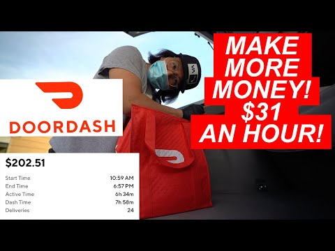 HOW MUCH CAN YOU MAKE PER DAY WITH DOORDASH IN 2020?!💵💰