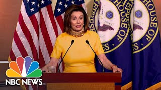 Pelosi: Firing Of State Department Inspector General Is 'Scandalous' | NBC News NOW