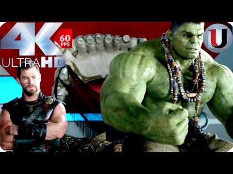 Thor Ragnarok - Thor & Hulk Conversation - Hulk Like Raging Fire - MOVIE CLIP (4K)