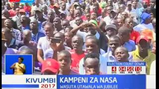 Raila Odinga ataka wapiga kura kumpinga Rais Uhuru Kenyatta katika uchaguzi