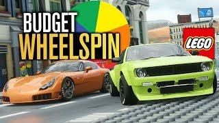 Forza Horizon 4 - LEGO CITY BUDGET WHEELSPIN BUILDS!