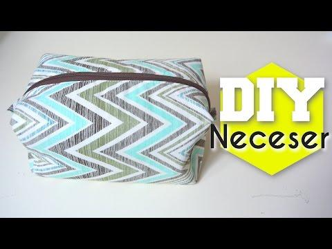 DIY - COMO HACER UN COSMETIQUERO / NECESER SUPER FACIL! - TUTORIAL | Danii's Ways ♡