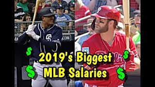 TOP 10 Largest Salaries of 2019 In Major League Baseball - INSANE Millionaires!