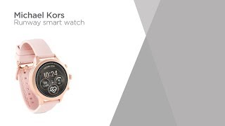 Michael Kors Access Runway MKT5048 Smartwatch - Rose & Pink | Product Overview | Currys PC World
