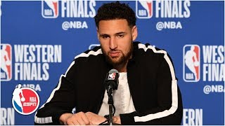 Klay Thompson never lost confidence in his shot in Warriors' Game 2 win   2019 NBA Playoffs