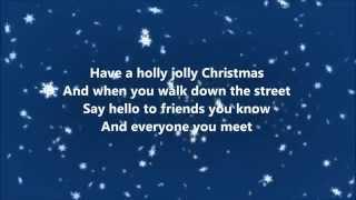 Burl Ives - Holly Jolly Christmas (Lyrics)
