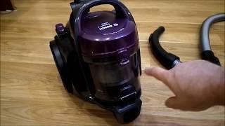 Пылесос безмешковый Bosch BGC05AAA1 от компании Cthp - видео 1