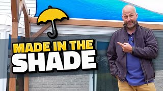 How To Build a Pergola | With Sails for Shade