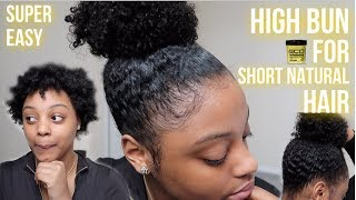 How To Do A High Bun Natural Hair Free Video Search Site Findclip