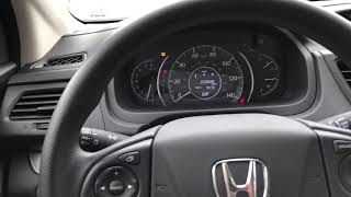 LOCK UNLOCK DOORS HONDA CR-V - HOW TO