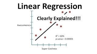 StatQuest: Linear Models Pt.1 - Linear Regression