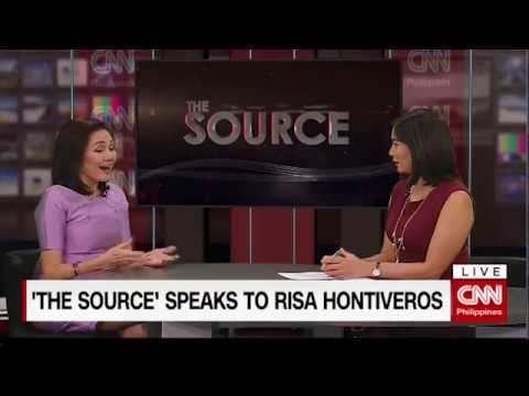 'The Source' speaks to Risa Hontiveros