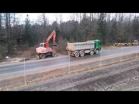 Roboty ziemne przy DD9