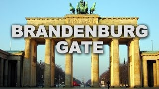 Brandenburg Gate in Berlin, a Well-Known Landmark of Germany