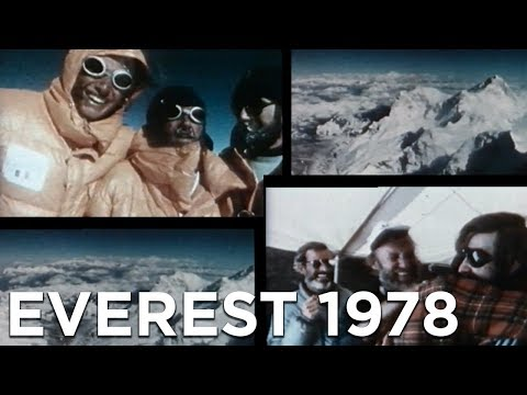 Everest 1978 Pierre Mazeaud Jean Afanassieff Nicolas Jaeger Kurt Diemberger au sommet alpinisme
