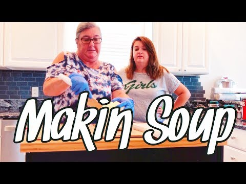 COOKIN SOME SOUP   not a tutorial lol