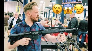 BRITISH people shoot GUNS for the first time 😵