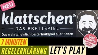 klattschen - DAS BRETTSPIEL - Regeln + Let´s Play - SUPER Lustig - Trinkspiel - Partyspiel