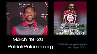 Patrick Peterson Foundation Scottsdale Golf Tournament Announcement