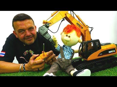 Camiones increíbles. Vídeo educativo para niños. Trocas de juguete.