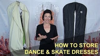 Proper Storage For Skate & Dance Dresses
