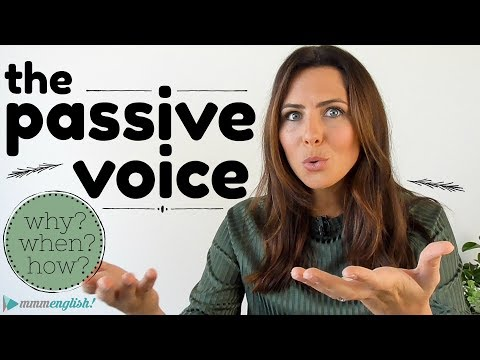 How to use the Passive Voice 😅 English Grammar Lesson