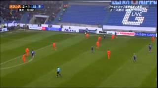 流動的サッカー日本対オランダ