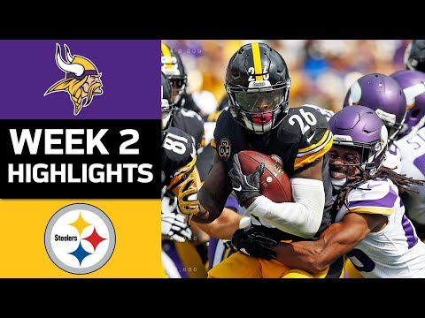 Vikings vs. Steelers | NFL Week 2 Game Highlights