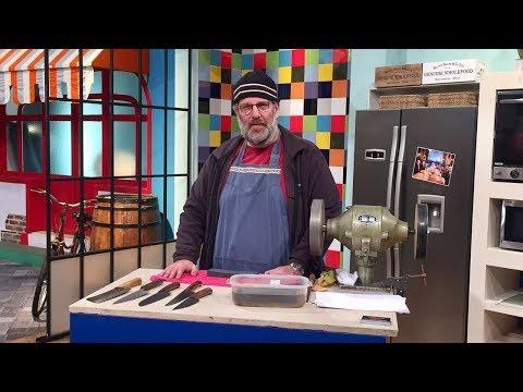 Cómo afilar cuchillos de manera perfecta