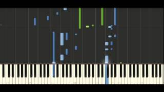 Yanni - If I could tell you - Piano Tutorial - Synthesia