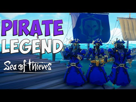 Sea of Thieves: Fastest and best way to become a Pirate Legend 2019