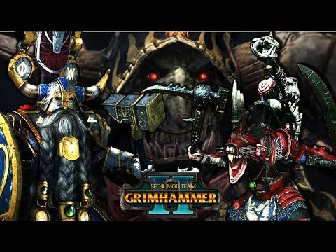 THE WAR FOR KARAK EIGHT PEAKS - SFO Grimhammer - Total War Warhammer 2