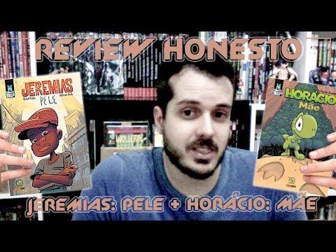 Review Honesto - Jeremias: Pele + Horácio: Mãe | Panini