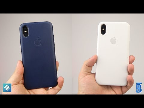 Review: Apple Silikon & Leder Case fürs iPhone X! - touchbenny