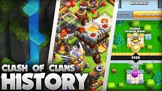 The History of Clash of Clans (2012 -2019) 7 Year Anniversary Special!