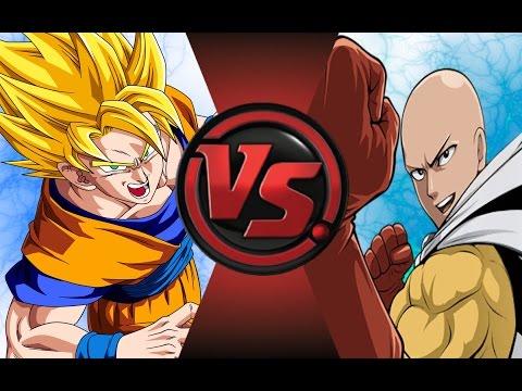 GOKU vs SAITAMA (One Punch Man)! Cartoon Fight Club Episode 40