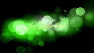 for your love - charlie wilson and marc nelson