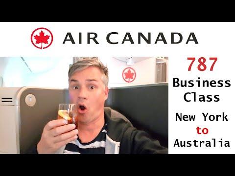 Air Canada Business Class Review – 787 Long Haul