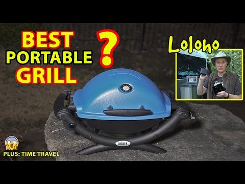The Best Portable Grill for RV Camping? WEBER Q1200 REVIEW (Plus: Time Travel)