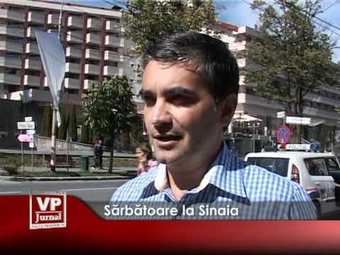 Sărbătoare la Sinaia