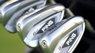 G425 Irons w/ Graphite Shafts-video