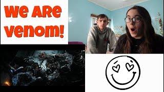 Venom - Trailer #2 Reaction