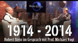 1914 – 2014 – Prof. Michael Vogt bei SteinZeit