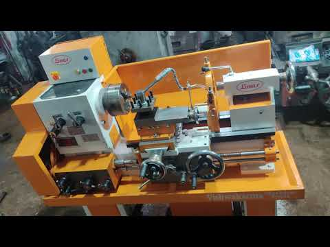 Medium Duty All Geared Lathe Machine