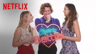 Flirting With Chase Stokes of Outer Banks   Charm Battle   Netflix