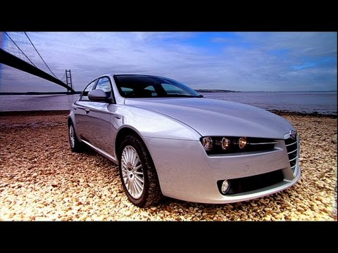 Alfa Romeo 159: Racing a Man Across the Humber River (HQ) | Top Gear | Series 10 | BBC