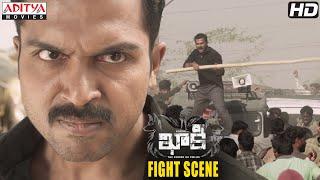 Gambar cover Khakee Movie Scenes   Bharatpur Village Fight Scene   Karthi, Rakul Preet